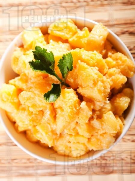 Картофена салата с Цезар дресинг - снимка на рецептата